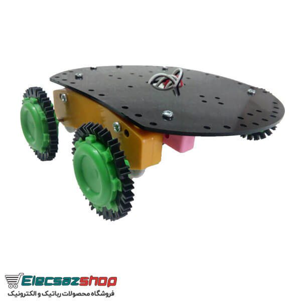 چرخ ساده ربات طرح خورشیدی فروشگاه الکسازشاپ