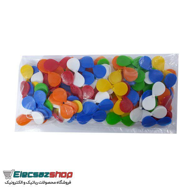 بسته شگفت انگیز 100 عددی پره پلاستیکی
