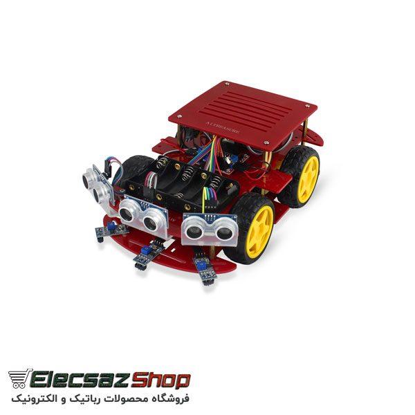 سنسور آلتراسونیک | ماژول آلتراسونیک srf04 | فروشگاه رباتیک و الکترونیک الکسازشاپ