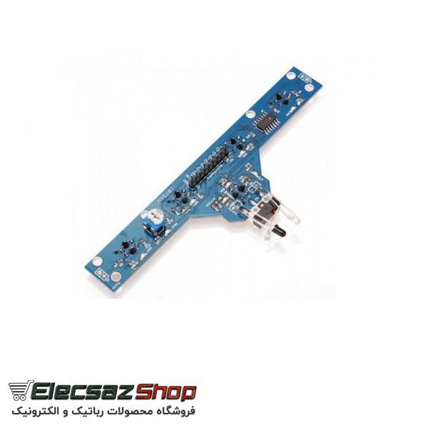 ماژول فرستنده گیرنده 5 سنسور TCRT5000 | ربات مسیریاب | الکسازشاپ