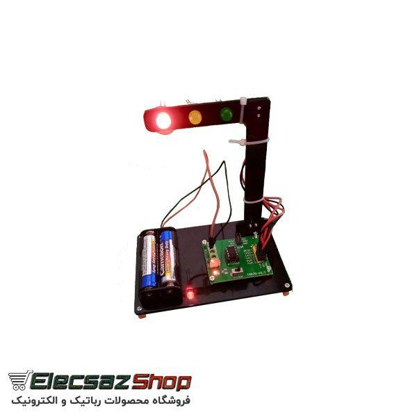 کیت چراغ راهنمایی   راهنمای چراغ راهنمایی   الکسازشاپ تولید کننده قطعات الکترترونیک