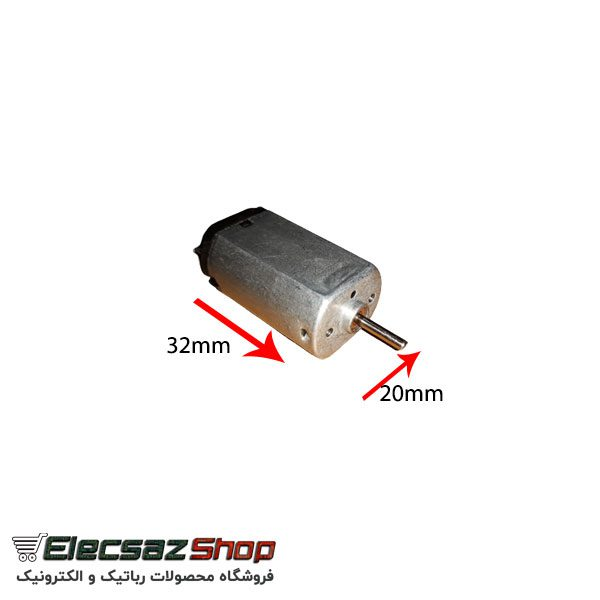خرید موتور DC | موتور DC تخت | قطعات رباتیک | الکسازشاپ
