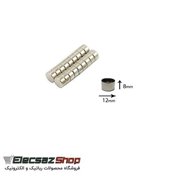 آهنربای نئودیمیوم |انواع آهنربا نئودیمیوم | قیمت آهنربا | فروشگاه رباتیک و الکترونیک | الکسازشاپ