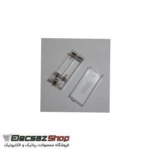 جاباتری دوتایی شفاف درب دار و کلید دار | الکسازشاپ