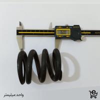 خرید فنر - تولید فنر - تولید فنر فشاری بزرگ