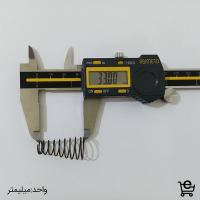 خرید فنر - تولید فنر -تولید فنر فشاری مخروطی