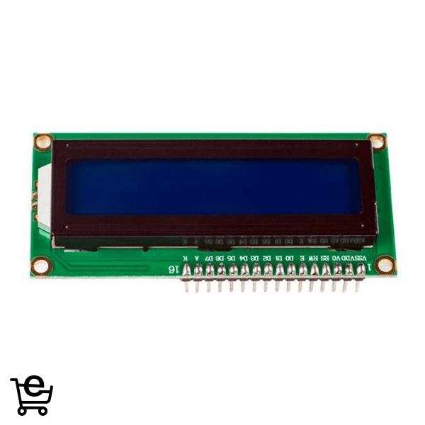 LCD کاراکتری 1602 آبی